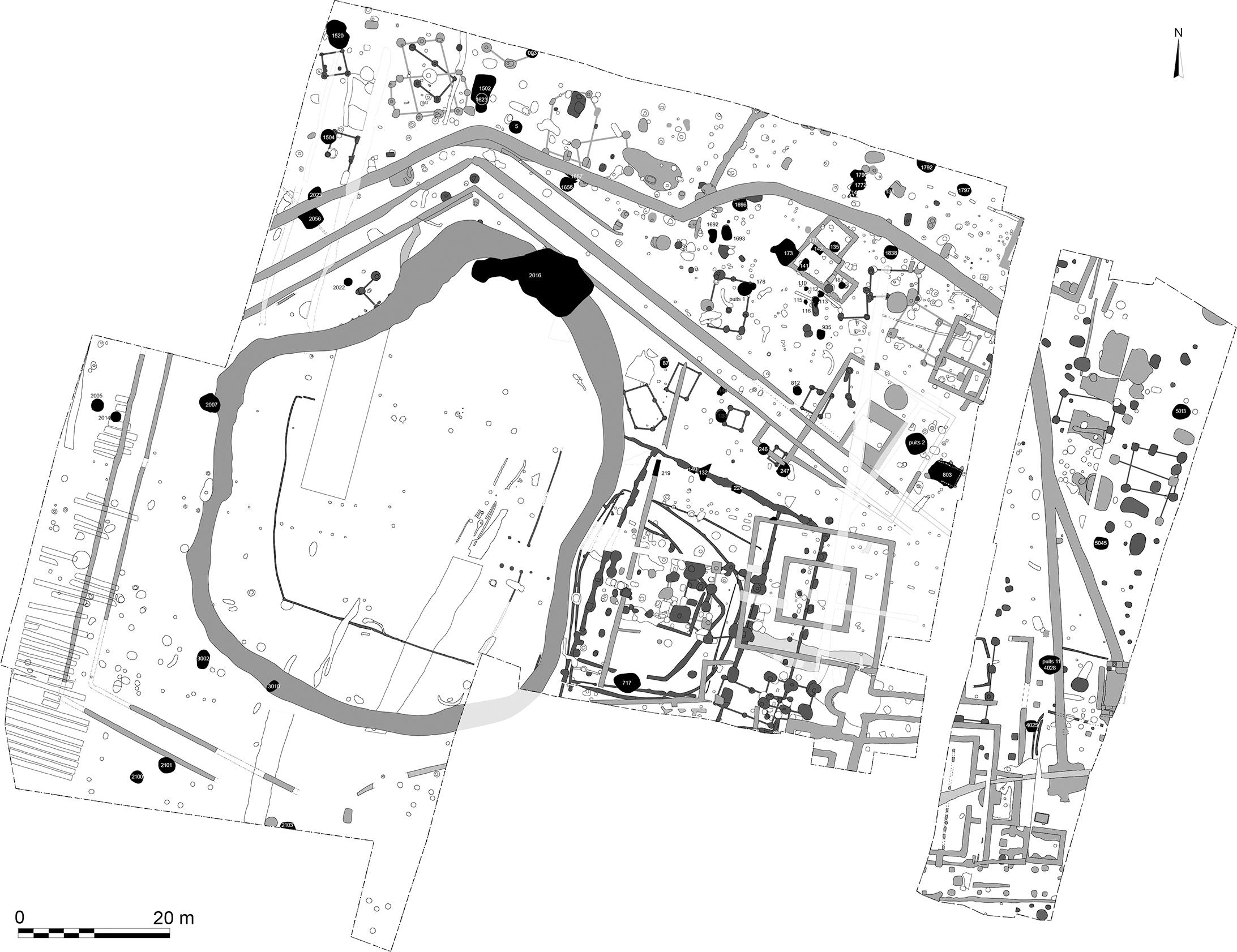Plan du sanctuaire