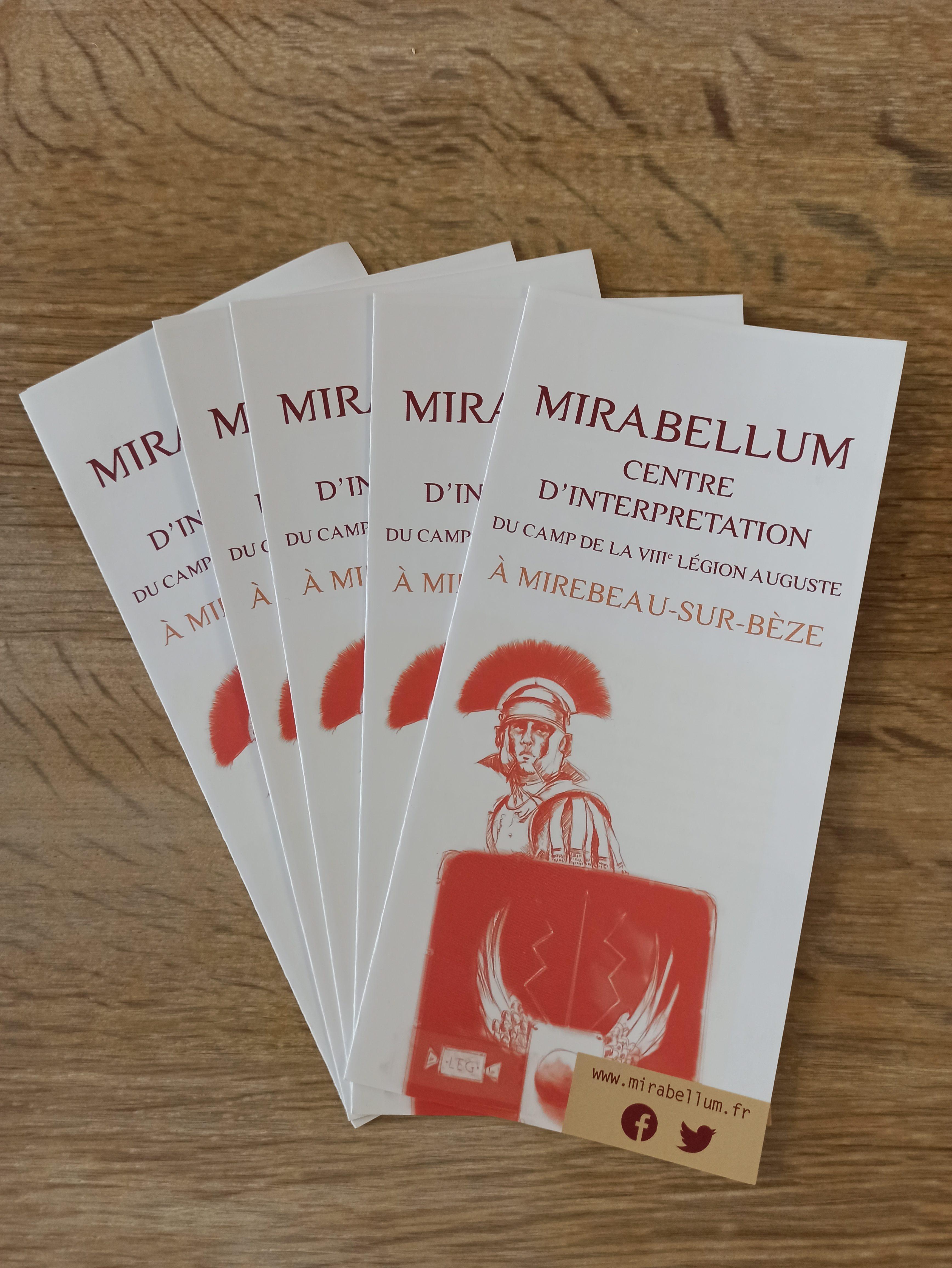 Nous avons notre flyer ! - Flyer du Mirabellum